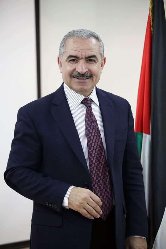 ראש הממשלה הפלסטיני מוחמד אשתייה