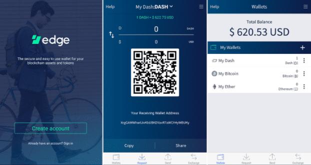 ארנק סמארטפון - אפליקציית אדג׳